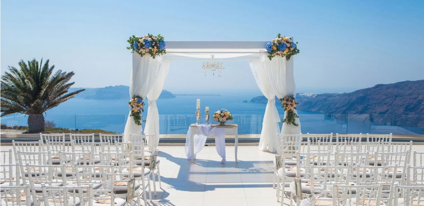 Santorini Wedding Venues Small Wedding Venues In Santorini Top Venues