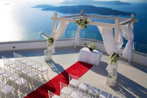 santorini wedding readcarpet