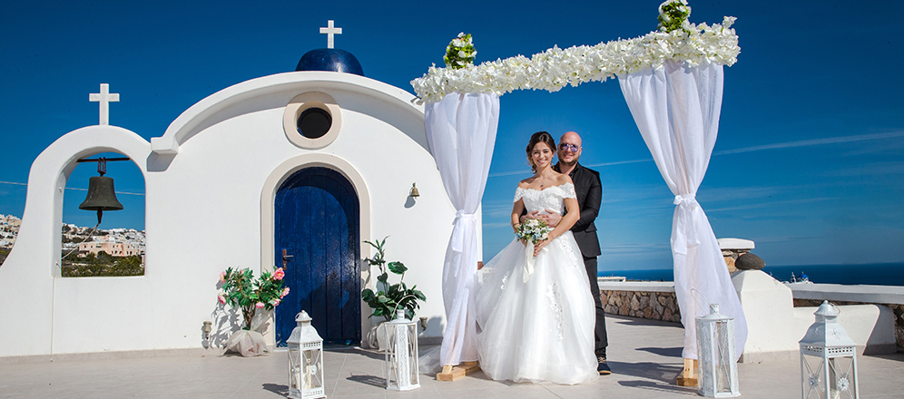 Symbolic Wedding Packages Santorini Wedding Planner