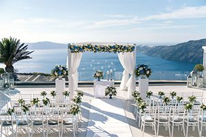 Le Ciel Santorini Location Imerovigli Caldera Available For Wedding Ceremony Reception
