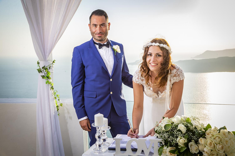 santorini wedding planner