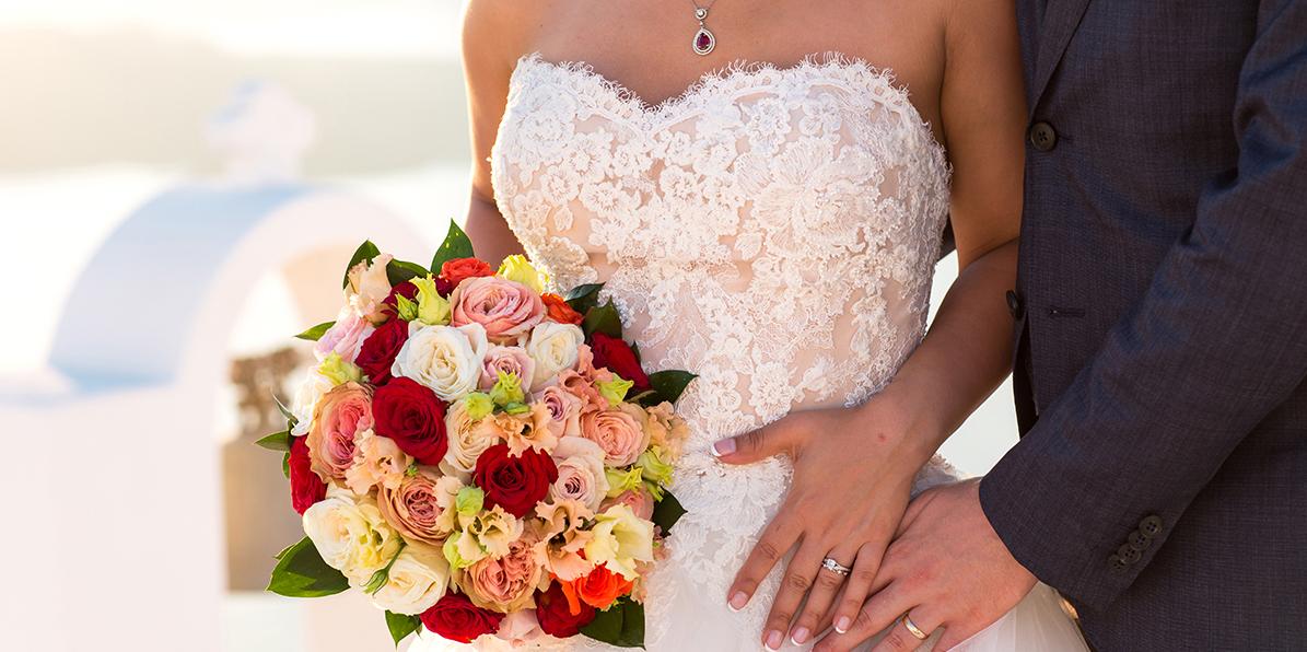 santorini wedding site map