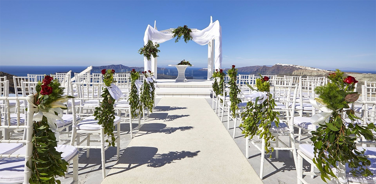 santorini wedding packages