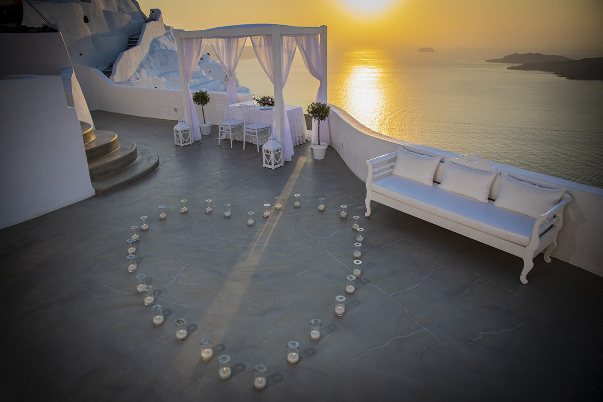 proposal candles